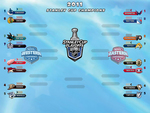 NHL Playoffs 2011 Brackets