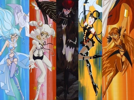 Sailor Aluminum Siren, Iron Mouse, Chaos, Tin Cat, Lead Crow