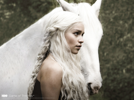 Game of Thrones - daenerys targaryen, daenerys, emilia clarke, game of thrones, targaryen