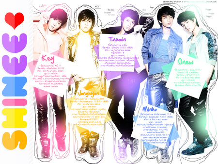 SHINee - members, shinee, 5, profile