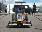 Dragster at the Hockenheimring