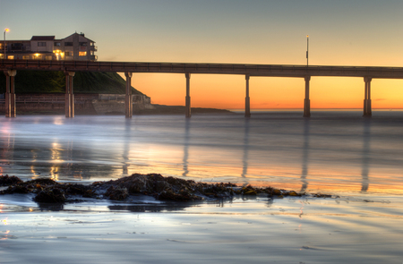 A San Diego Sunset - Beaches & Nature Background Wallpapers