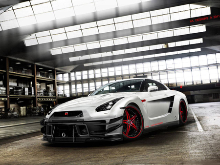 Nissan GT-R - nissan, japanese tuning, nissan skyline tuning, r35, gtr r35, nissan tuning, japan, kk designs, skyline, gtr, nissan gtr r35, virtualtuning, skyline r35