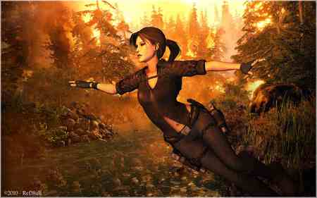 Tomb Raider - lara, hot, tomb raider, wallpaper