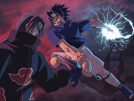 Itachi Vs Sasuke Naruto Anime Background Wallpapers On Desktop Nexus Image 649663