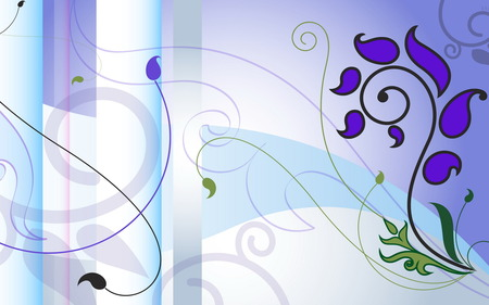 Juice Drop - design, juice drop, widescreen, vector, wds, forms, abstract, vector artwork, violet