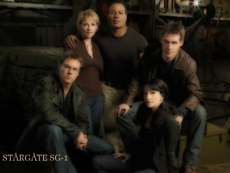 Stargate SG-1 - stargate sg-1, space, travel, science fiction, adventure, show, scifi, protectors, sg-1, stargate, stargate sg1