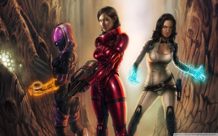 Mass Effect - fantasy, hd, female, mass effect, action, video game, adventure