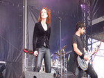 Epica at Hellfest 2007