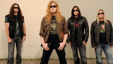 Megadeth - metal, megadeth, thrash, music, band, heavy