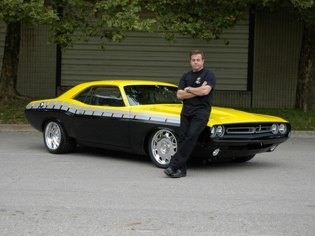 My Hero   Chip Foose - dodge, foose-70-challenger, cars, chip foose