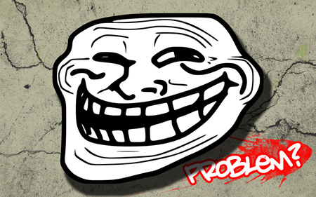 Trollface - trollface wallpapers, problem, troll, trollface, trollface wallpaper