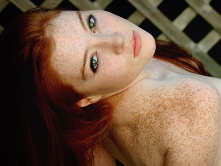 sexy redheads with freckles