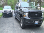 Ford 2003 Excursion Limited and 2010 cadillac SRX