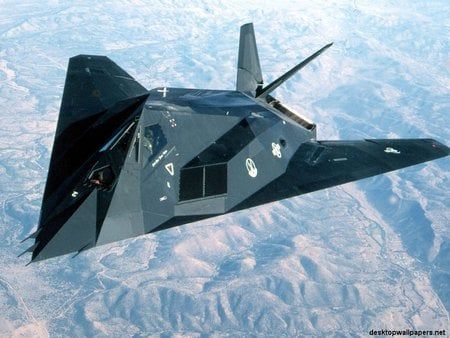F117A Stealth Fighter - warplanes, fighterjets, jets, military aircraft