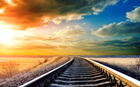 ENDLESS JOURNEY AT DUSK - Photography & Abstract Background Wallpapers on Desktop Nexus (Image ...
