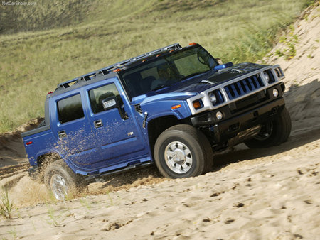 Hummer H2 SUT Limited Edition - limited edition, hummer, sand, blue