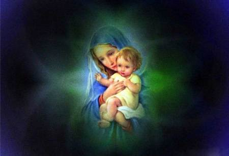 Virgin Mary Collages Abstract Background Wallpapers On Desktop