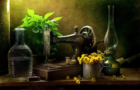 Antique Beauty Photography Abstract Background Wallpapers On Inspiration Sewing Machine Wallpaper