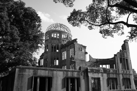 Atomic Bomb Dome in Hiroshima - a-bomb, a-bomb dome, world war, dome, memorial, atom bomb, japan, hiroshima, nippon, 2nd world war, atomic bomb dome