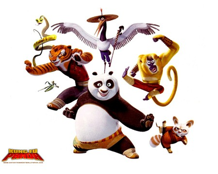 Kung Fu Panda! - animals, kung fu panda, panda, movie, cartoon, funny, bear