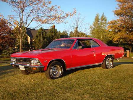 1966 Chevrolet Chevelle SS 396 - gm, chevelle, chevy, classic, muscle car