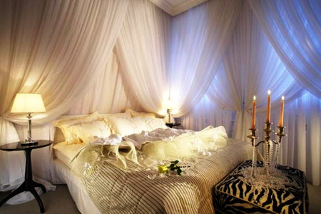 Romantic Bedroom Other Architecture Background