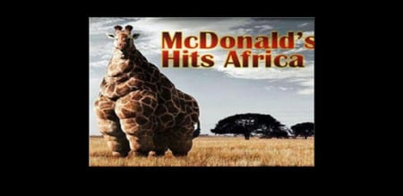Superb McDonalds Hits Africa   Funny U0026 Entertainment Background Wallpapers .
