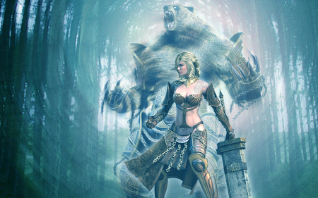 Spirit Of The Bear Guild Wars Video Games Background Wallpapers On Desktop Nexus Image 660810