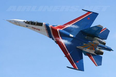 Sukhoi Su-27 - russian air force, sukhoi, red air force, jet, jet fighter, soviet air force