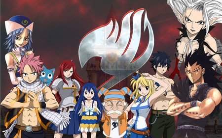 Fairy Tail Guild Wallpaper Hd Fairy Tail - Other &am...