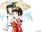 Haku and Chihiro