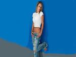 Nikki Sims Blue Wall