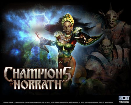 Champions - game, champions, female, fantasy