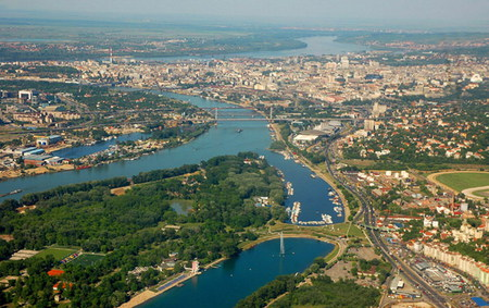 Belgrade - sunny, city, belgrade, air