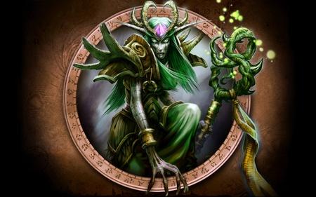 Night Elf Priest World Of Warcraft Video Games