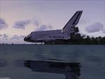 hight landing of shuttles