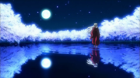 Full Moon Inuyasha Anime Background Wallpapers On Desktop Nexus Image 666120