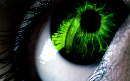 poison eye - poison, green, deadly, eye