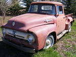 Rusty 1956 Ford F100