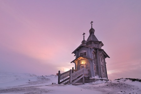 Trinity Church, Antarctica - antarctica, russian, orthodox, church
