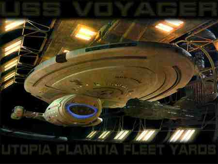 Uss Voyager Tv Series Entertainment Background
