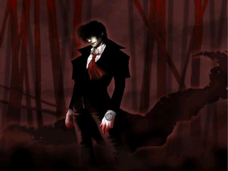 Alucard's dark forest - hellsing, alucard