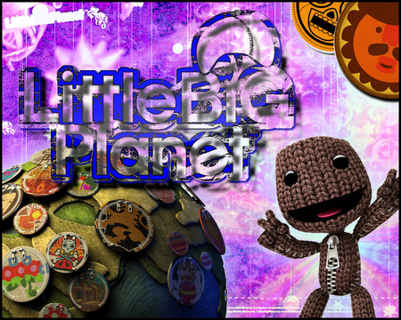 Little Big Planet 3 - cute, person, video game, sack, little big planet
