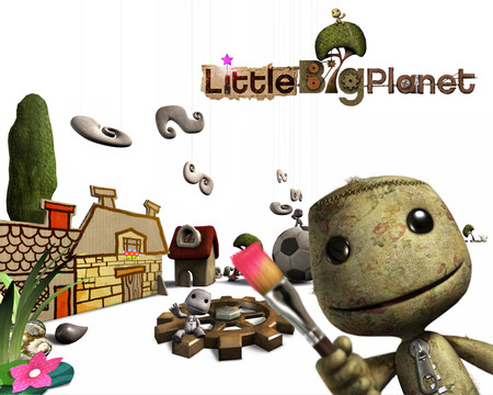 Little Big Planet 4 - cute, person, video game, sack, little big planet