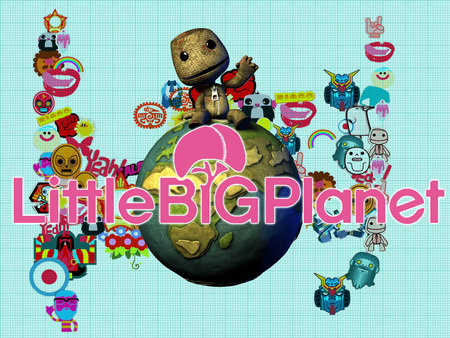 Little Big Planet 8 - cute, person, video game, sack, little big planet