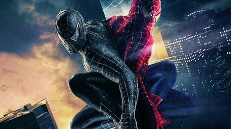Spiderman - movie, marvel, web, spiderman