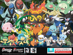 Pokemon from Pokemon Black & White! (Japanese Wallpaper)