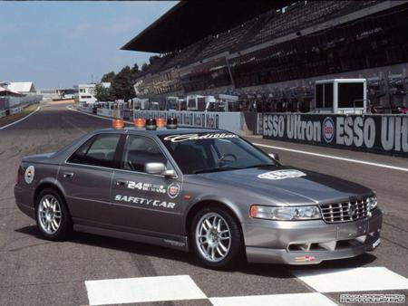 Pace car - cars, cadillac, sts, race cars