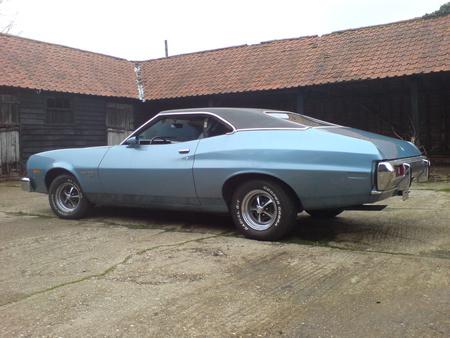 73 Torino - 73, blue, ford, torino